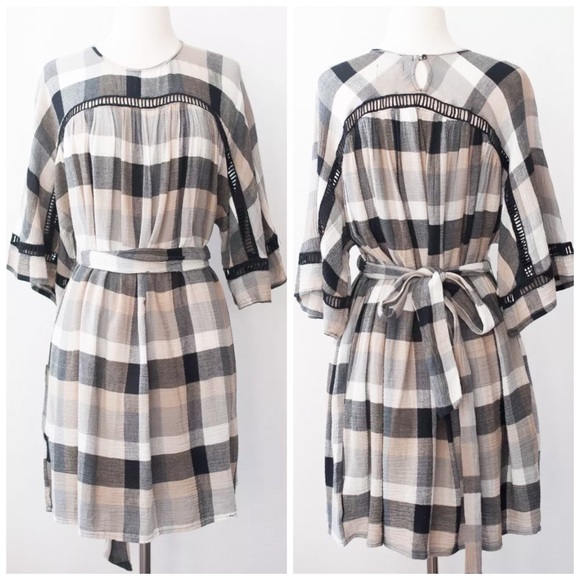 217a37b72e09 Anthropologie Dresses | New Tiewaist Kimono Tunic Dress | Poshmark